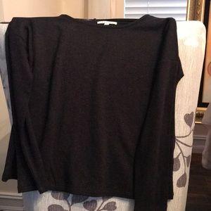 Girls size medium black long sleeve shirt